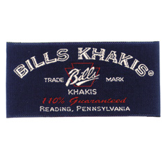bill khakis logo label__55863